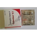 Каберголин (Агалатес, Берголак, Достинекс) 4 таблетки по 0,5мг Индия