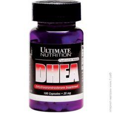 Бустер тестестерона Ultimate Nutrition DHEA 25мг, 100 капсул