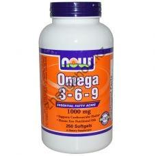 Omega-3-6-9 1000 мг (250 гелевых капсул)