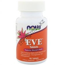 Витамины Now Foods EVE 90 Таблеток