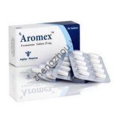 Анти-Эстроген ALPHA-PHARMA AROMEX (Экземестан) 25 мг — 30 таб