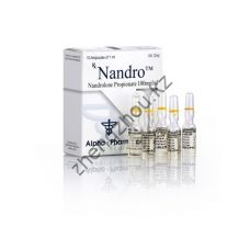 Купить Nandro (Дека, Нандролон пропионат) Alpha Pharma 10 ампул по 1мл (1амп 100 мг) по лучшей цене