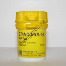 Станозолол Lyka Labs 100 таблеток (1таб 10 мг)