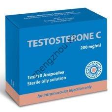 Тестостерон ципионат (oil) RADJAY 10 ампул по 1мл (1амп 200 мг)