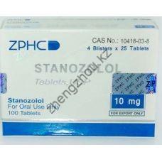 Купить Станозолол ZPHC в Алматы, (Stanozolol) 100 таблеток (1таб 10 мг) по лучшей цене