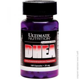 Дегидроэпиандростерон (гормон дгэа) Ultimate Nutrition DHEA 25мг, 100 капсул