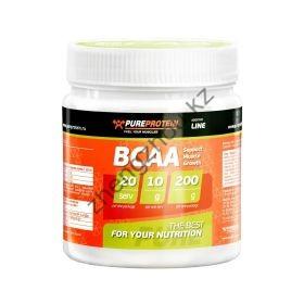 PureProtein, BCAA 2:1:1, 200 гр. апельсин, лимон, лесные ягоды, яблоко