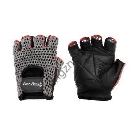 Серые перчатки в сетку Be First