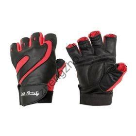 Перчатки черно-красные без фиксатора Be First