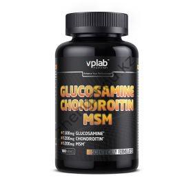 Для суставов и связок Glucosamine Chondroitin MSM VPLab (180 таблеток)