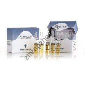 Parabolin (Тренболон) Alpha Pharma 5 ампул по 1.5мл (1амп 76.5 мг)