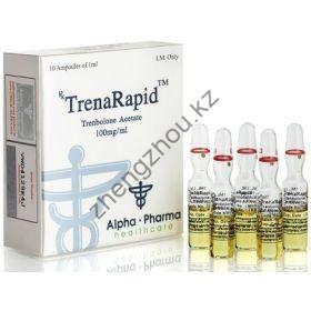 Тренболон ацетат Alpha Pharma (TrenaRapid) 10 ампул по 1мл (1амп 100 мг)