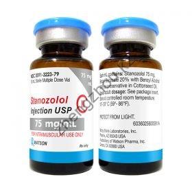 Винстрол Watson Stanozolol Inject флакон 10 мл (50 мг/1 мл)