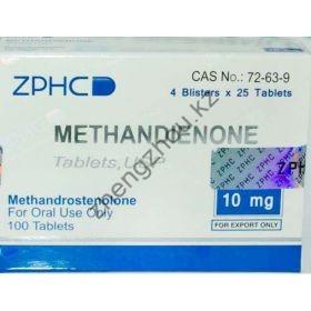 Метан ZPHC (Methandienone) 100 таблеток (1таб 10 мг)